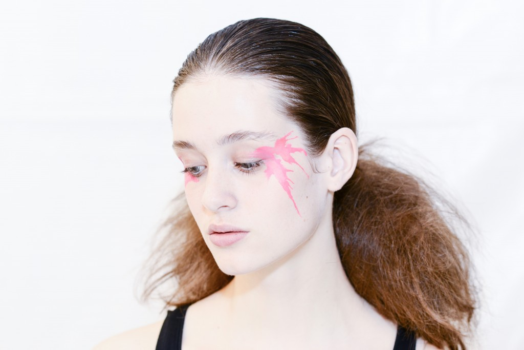 Issey Miyake SS16 Paris Fashion Week backstage Dan Spigelman Crash Magazine
