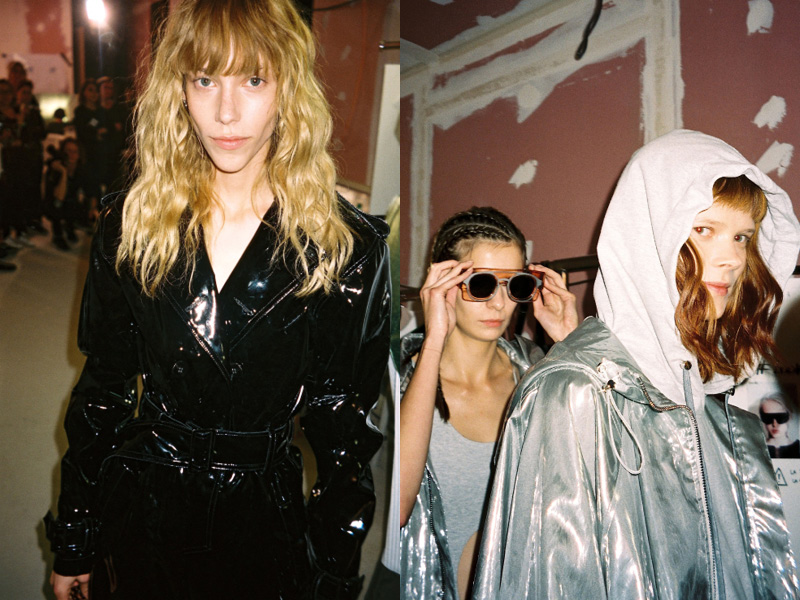 Backstage at Wanda Nylon SS16 LVMH Prize 2016 Crash Magazine