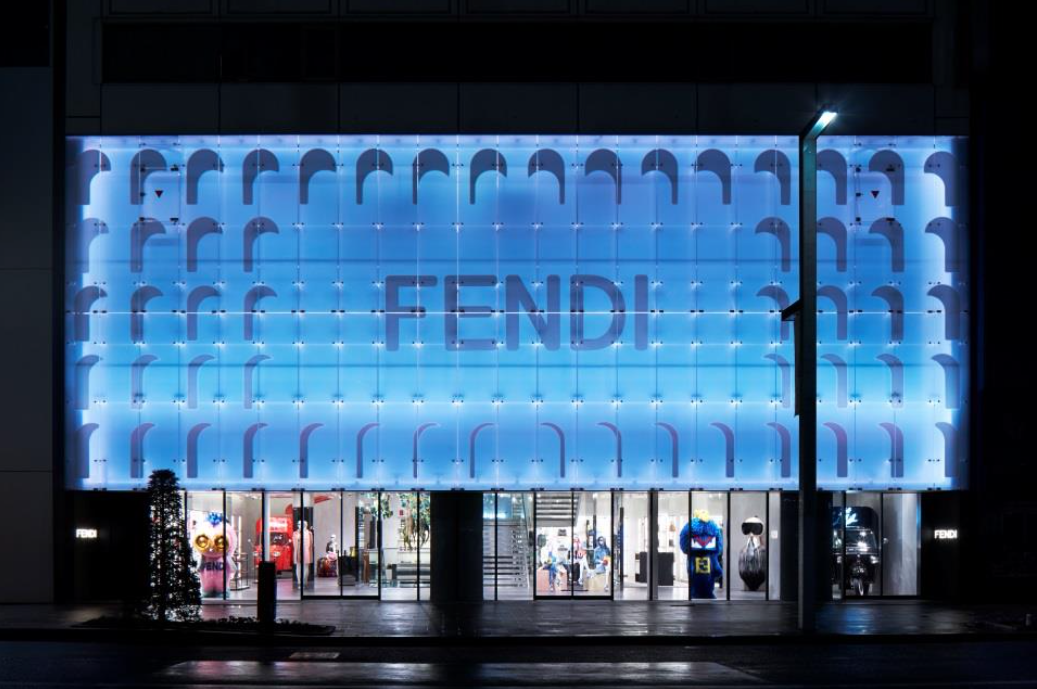 OPENING OF THE FENDI GINZA POP-UP STORE