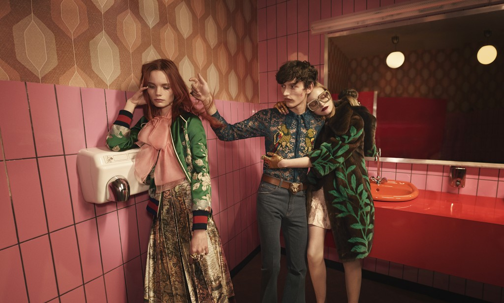 Gucci SS16 campaign by Glen Luchford Alessandro Michele Crash Magazine