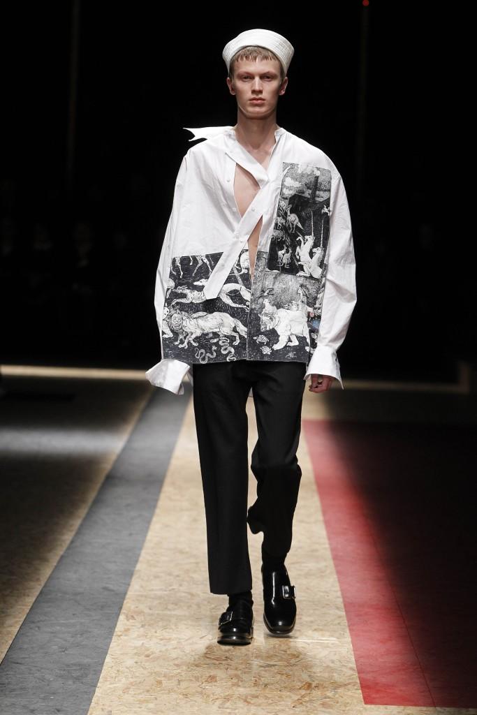 Prada Men FW16 Crash Magazine Milan Fashion Week