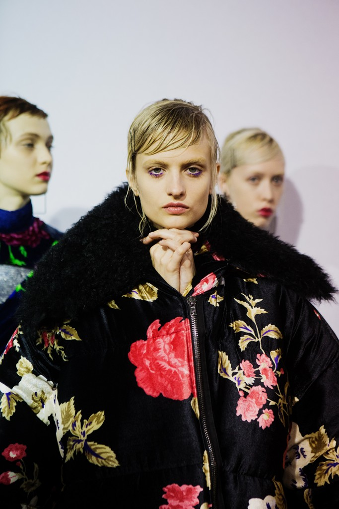 Backstage MSGM-Fall-Winter-2016 Milan Fashion Week Crash Magazine Tassili Calatroni