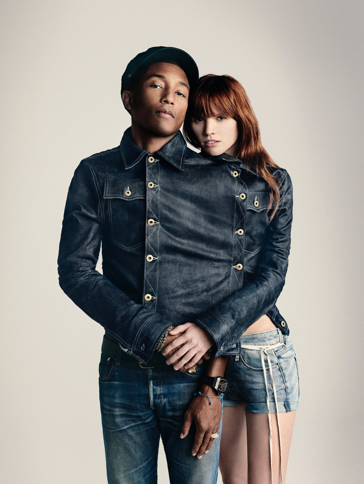 PHARRELL WILLIAMS BECOMES CO-OWNER OF G-STAR RAW
