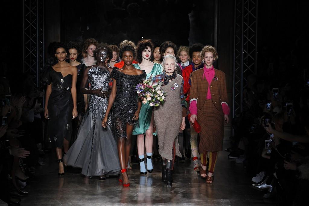 Vivienne Westwood Fall Winter 2016 runway London Fashion Week