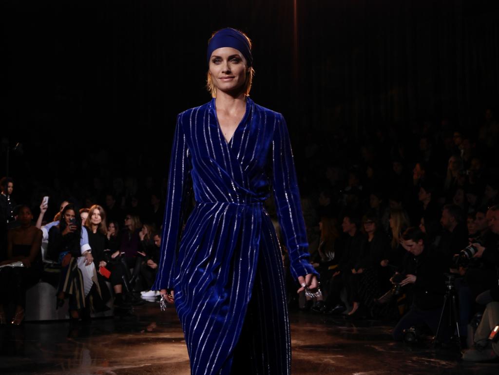 H&M-Studio-Fall Winter-2016 Paris Fashion Week Crash Magazine Amber Valletta