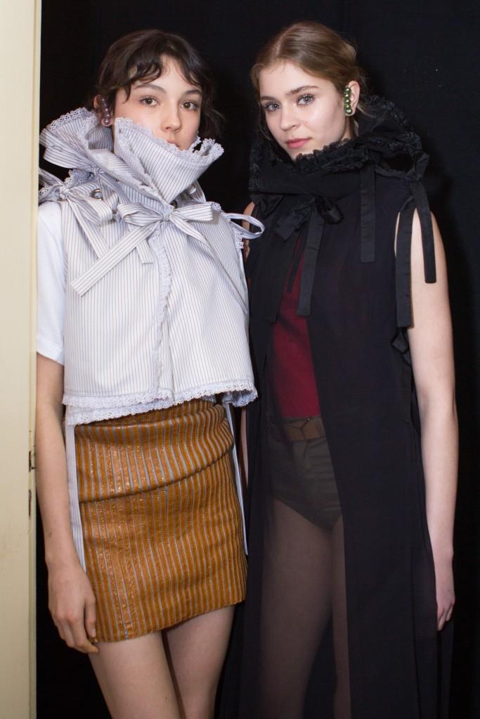 Y-Project-Backstage story Y/Project Fall-Winter 2016 Paris Fashion Week Crash Magazine