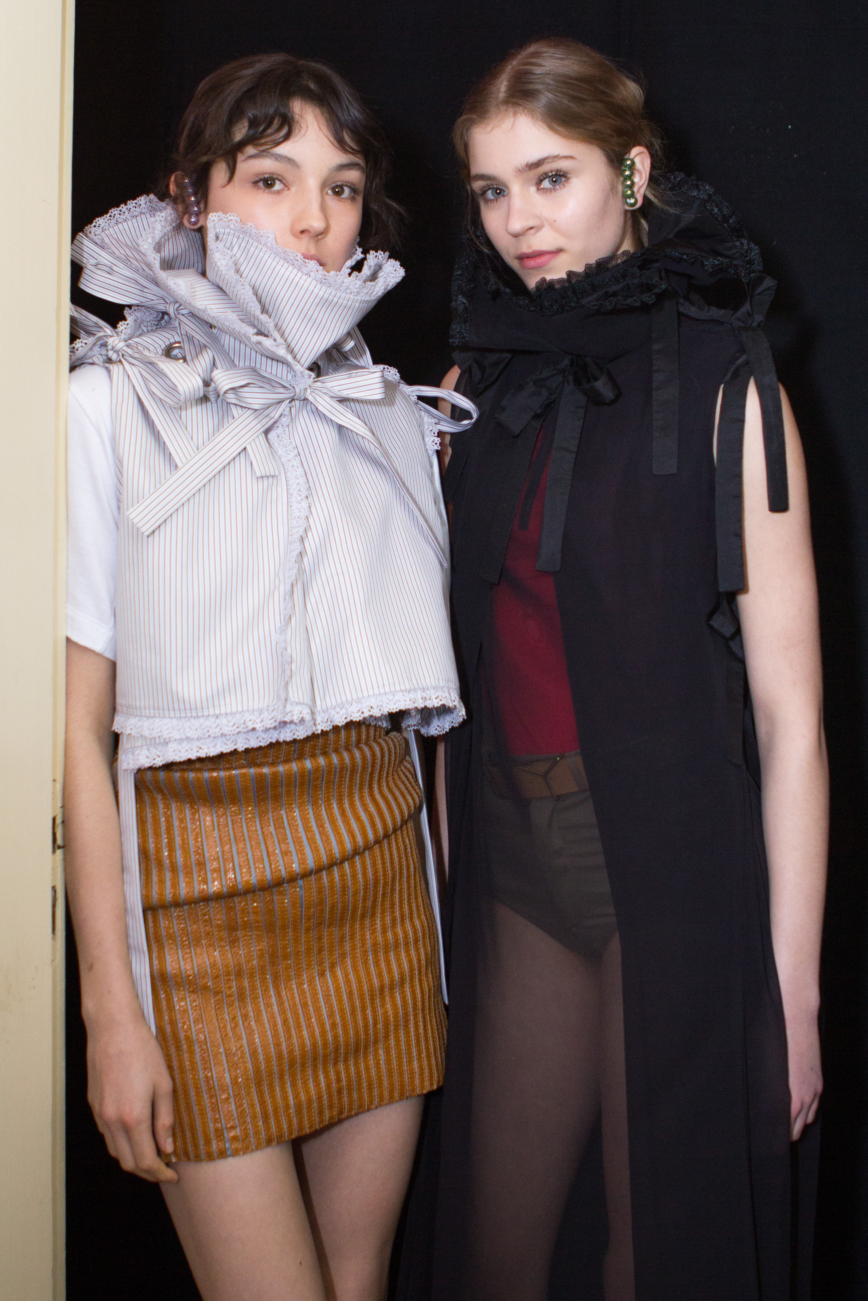 BACKSTAGE AT Y/PROJECT FALL WINTER 2016 PARIS