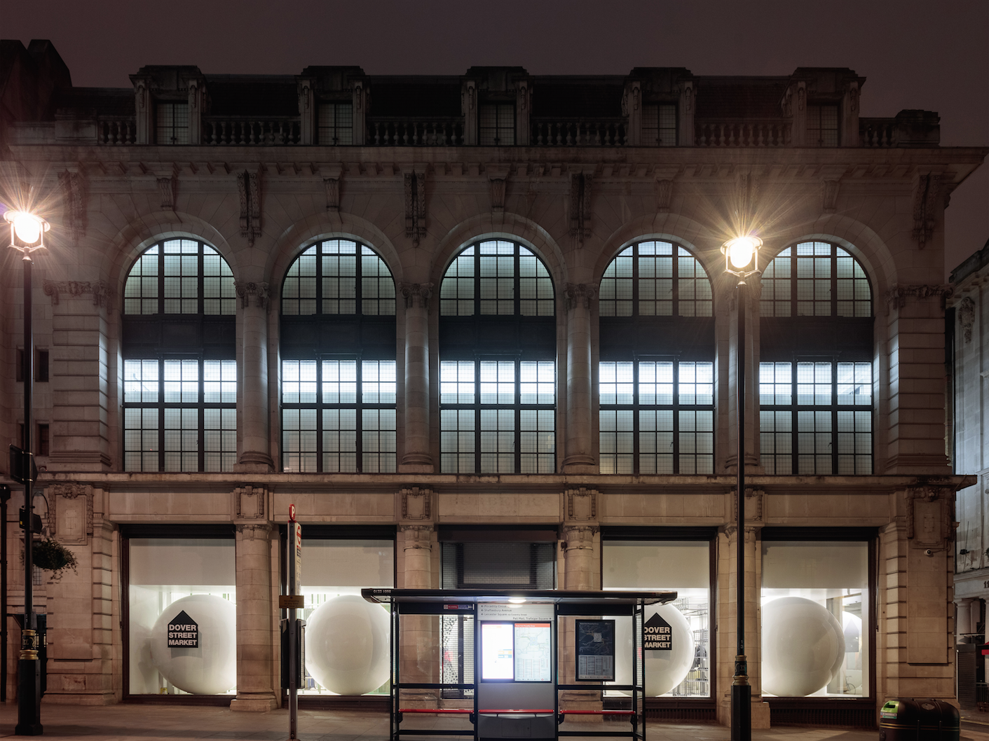 DOVER STREET MARKET NEW OPENING IN LONDON HAYMARKET