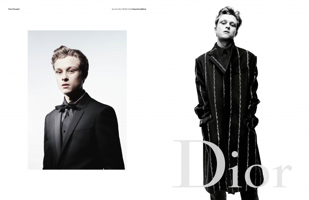 Dior Homme Fall-Winter 2016 campaign Rod Paradot Willy Vanderperre Crash Magazine