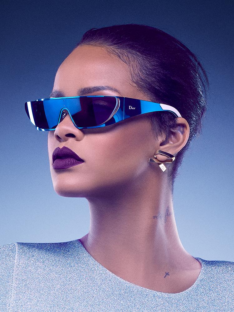 Rihanna collaborates with Dior eyewear Crash Magazine