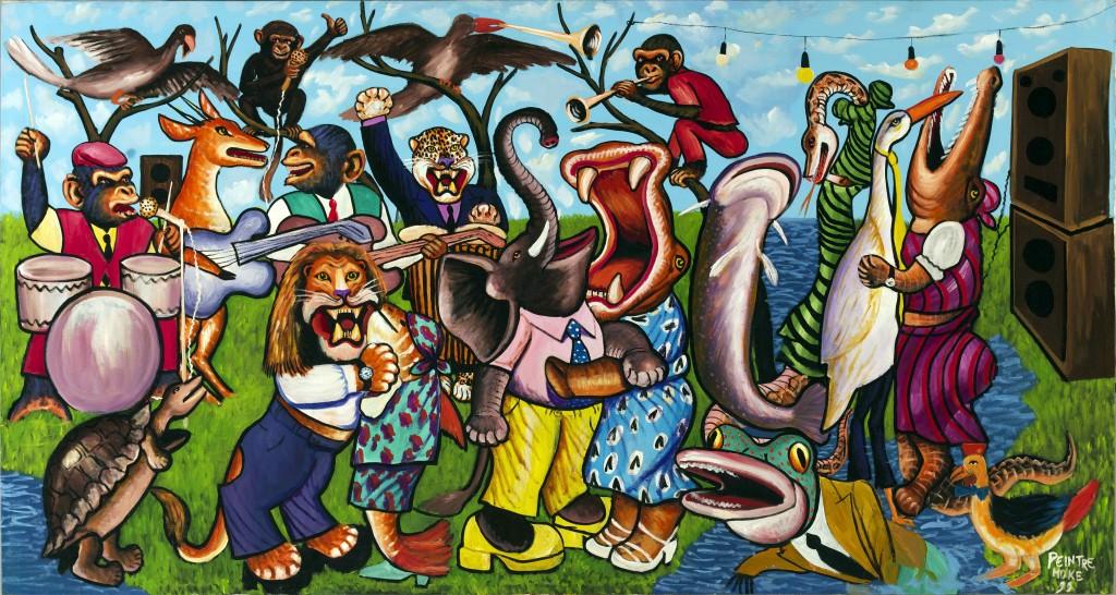 Le Grand Orchestre des animaux Crash Magazine Fondation Cartier Moke, L'Orchestre dans la forêt