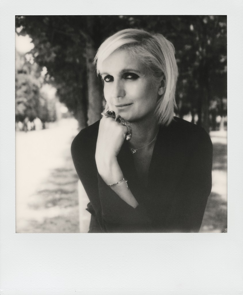 Maria Grazia Chiuri © Maripol Christian Dior artistic director Crash Magazine