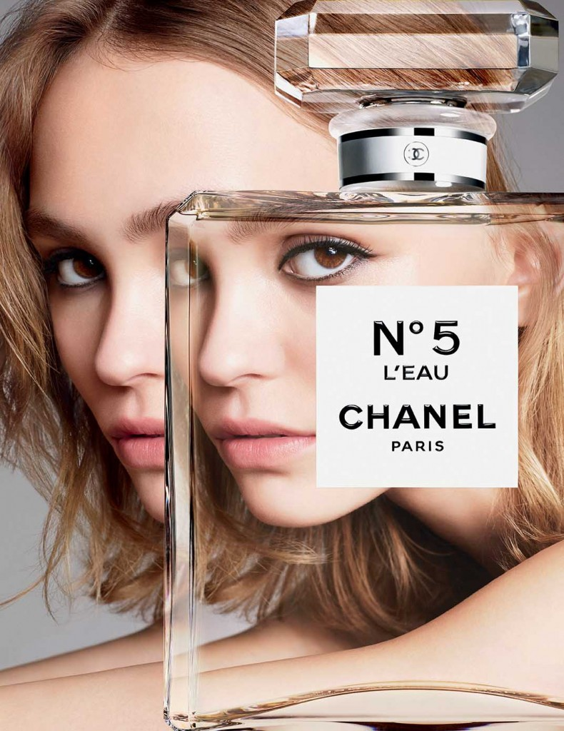 Chanel N.5 L'Eau campaign with Lily-Rose Depp - Crash magazine