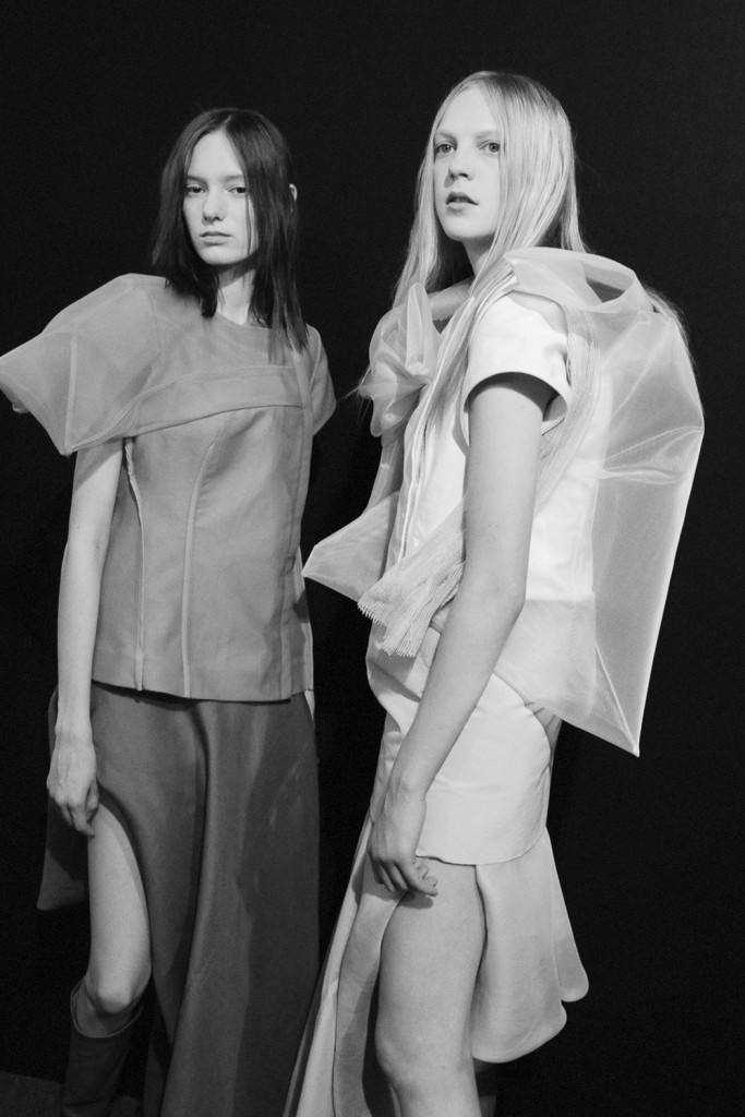 Backstage Rick Owens SS17 Paris Fashion Week Crash Magazine Elise Toïdé