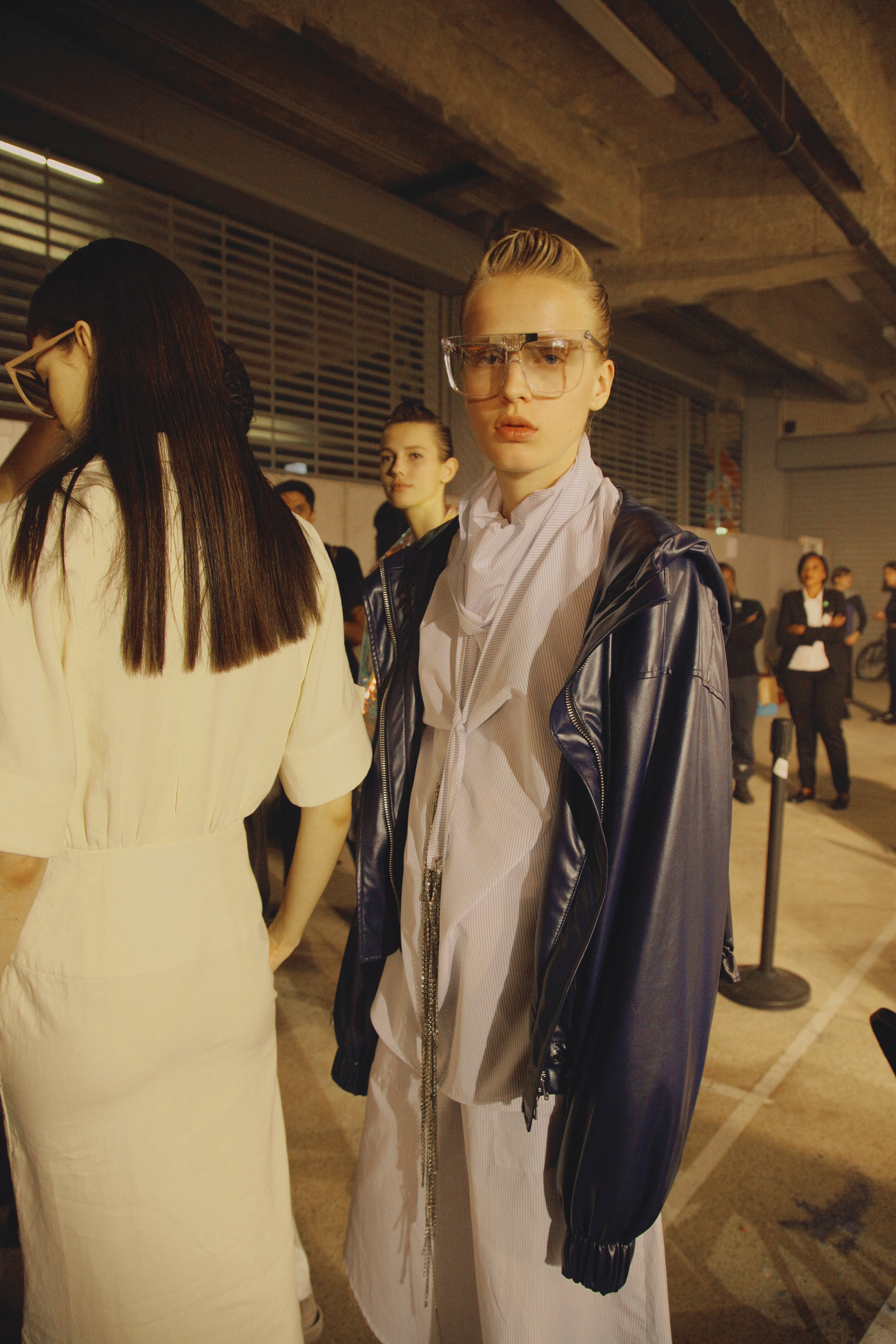 BACKSTAGE AT WANDA NYLON SPRING-SUMMER 2017 PARIS