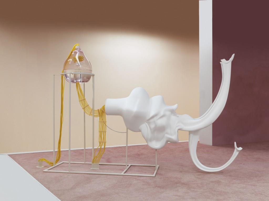 Marguerite Humeau / FOXP2 / PALAIS DE TOKYO / 10 Best exhibitions of 2016- CRASH Magazine