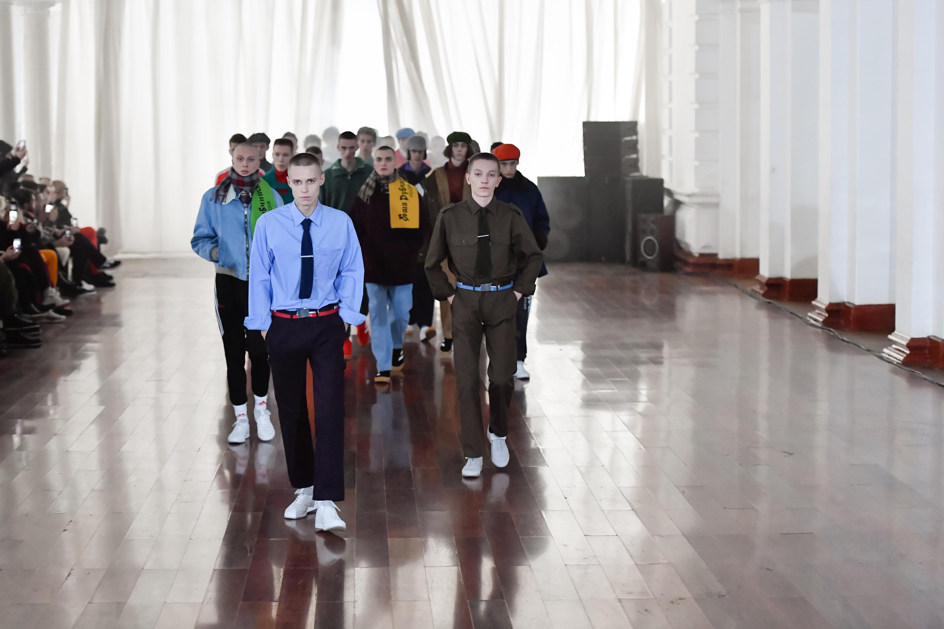 GOSHA RUBCHINSKIY FALL WINTER 2017/18 COLLECTION RUSSIA