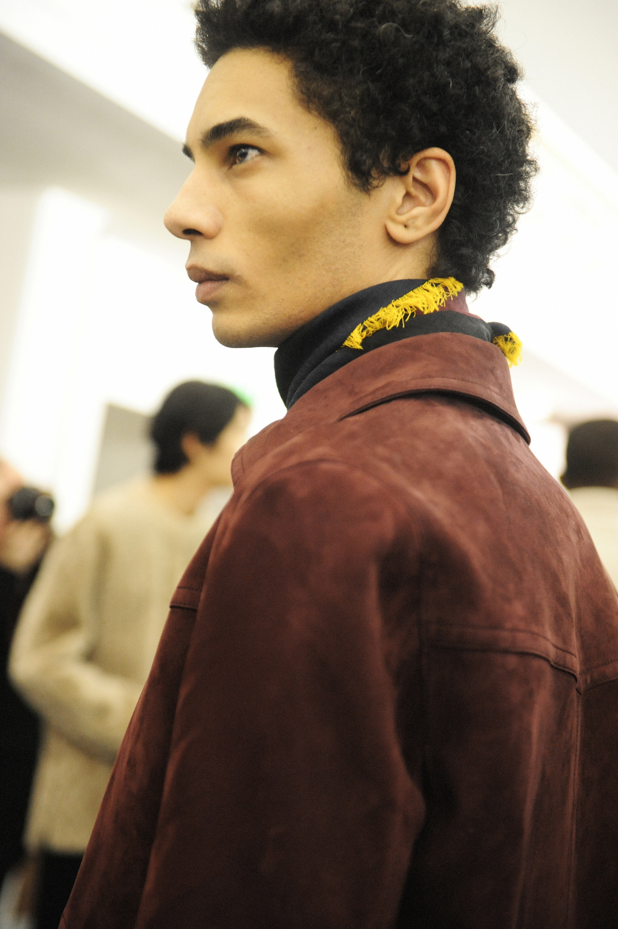 BACKSTAGE AT HERMES MENSWEAR FALL WINTER 2017/18 COLLECTION PARIS