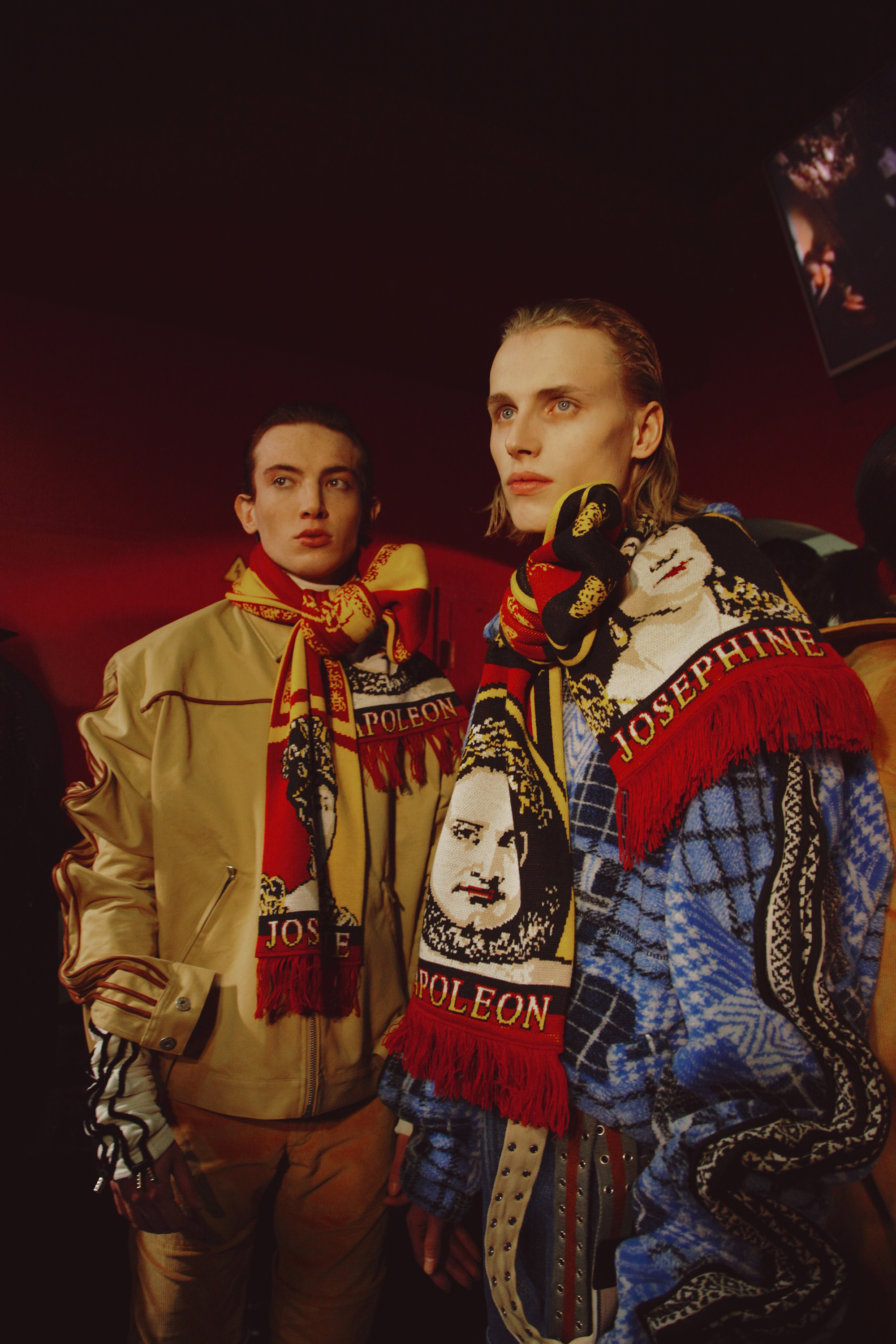 BACKSTAGE AT Y/PROJECT MEN FALL WINTER 2017/18 PARIS