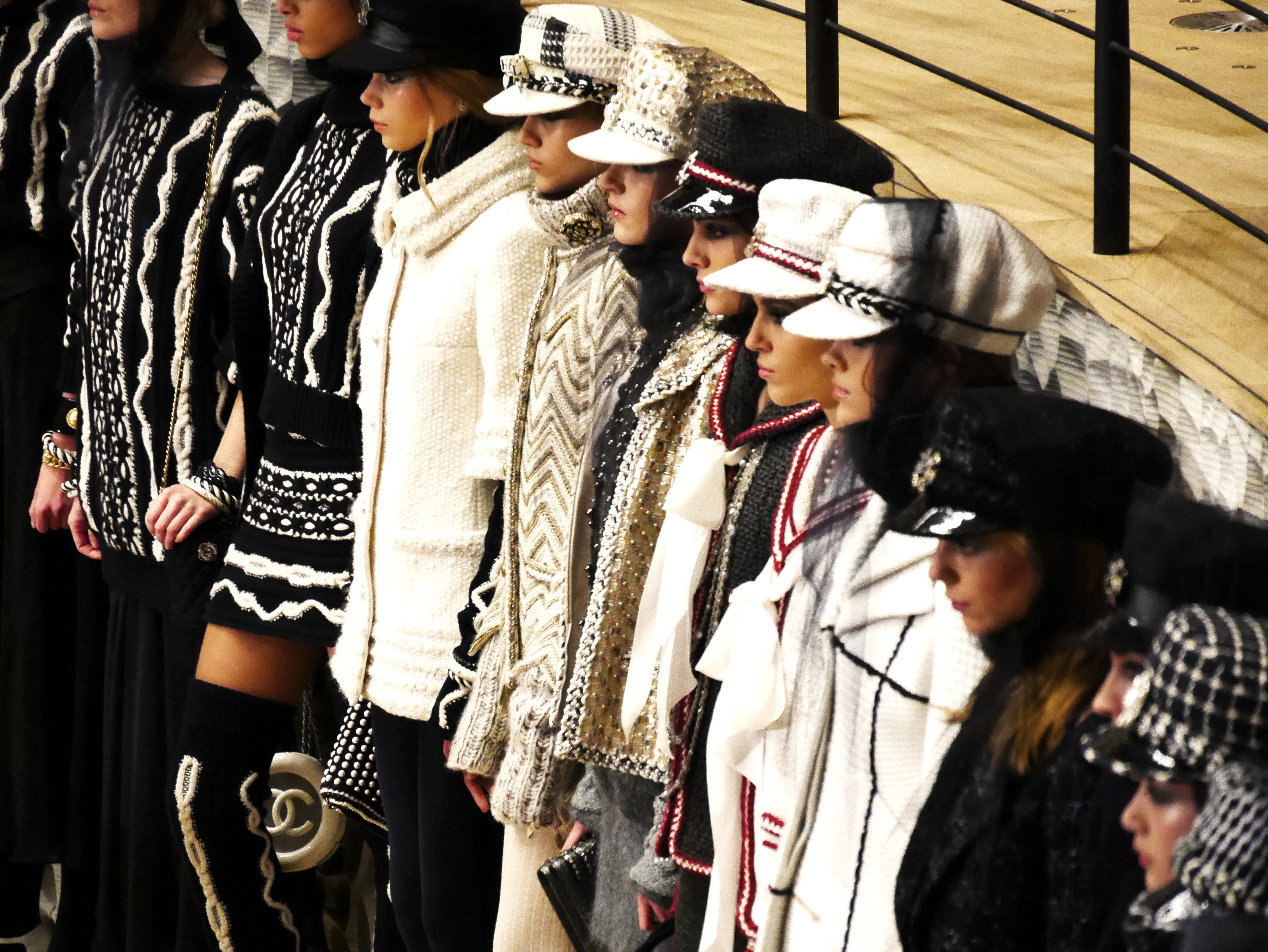 PAST, PRESENT AND FUTURE MEET AT THE CHANEL METIERS D'ART SHOW