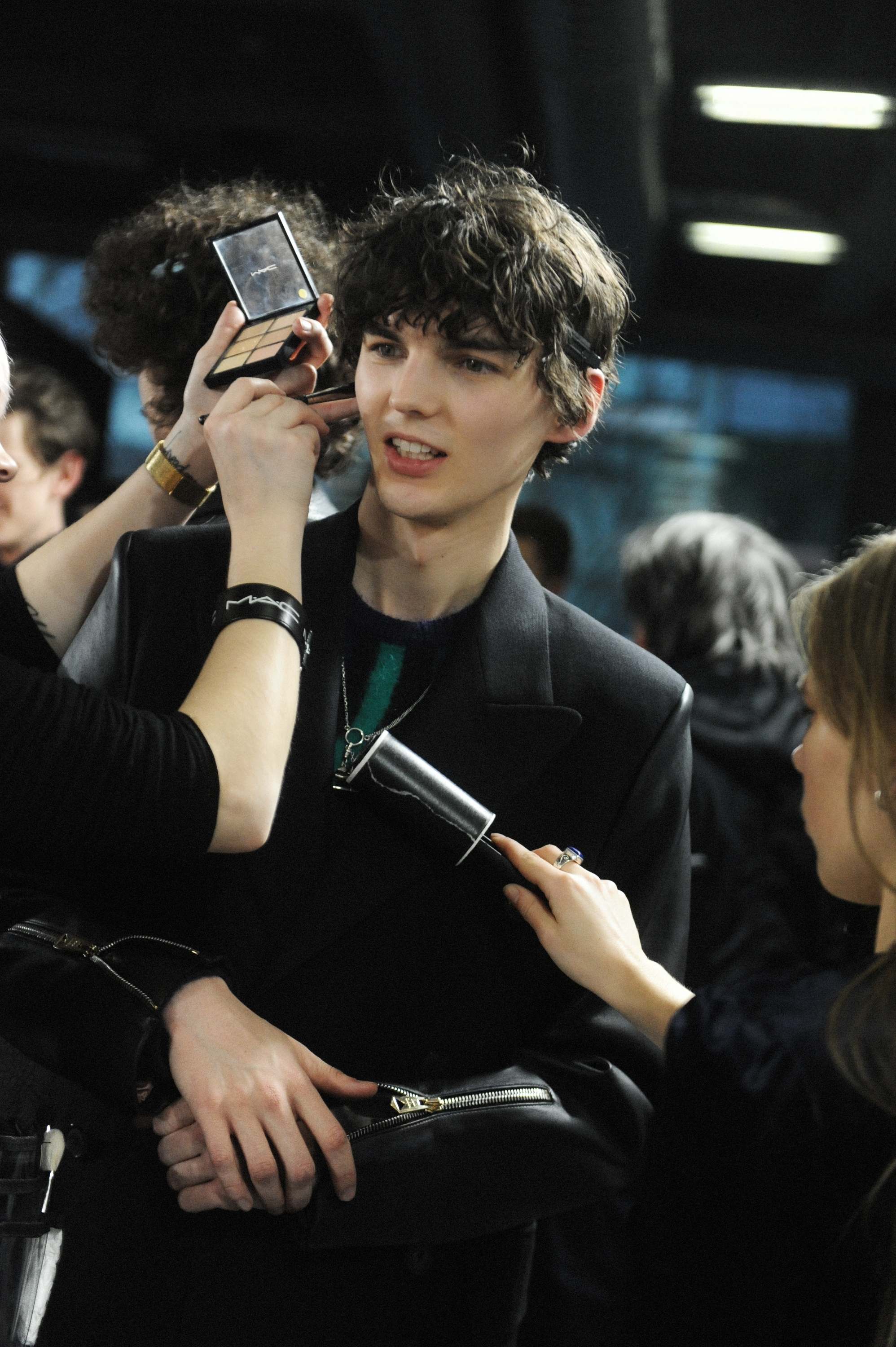 BACKSTAGE AT PAUL SMITH MEN'S A/W 2018