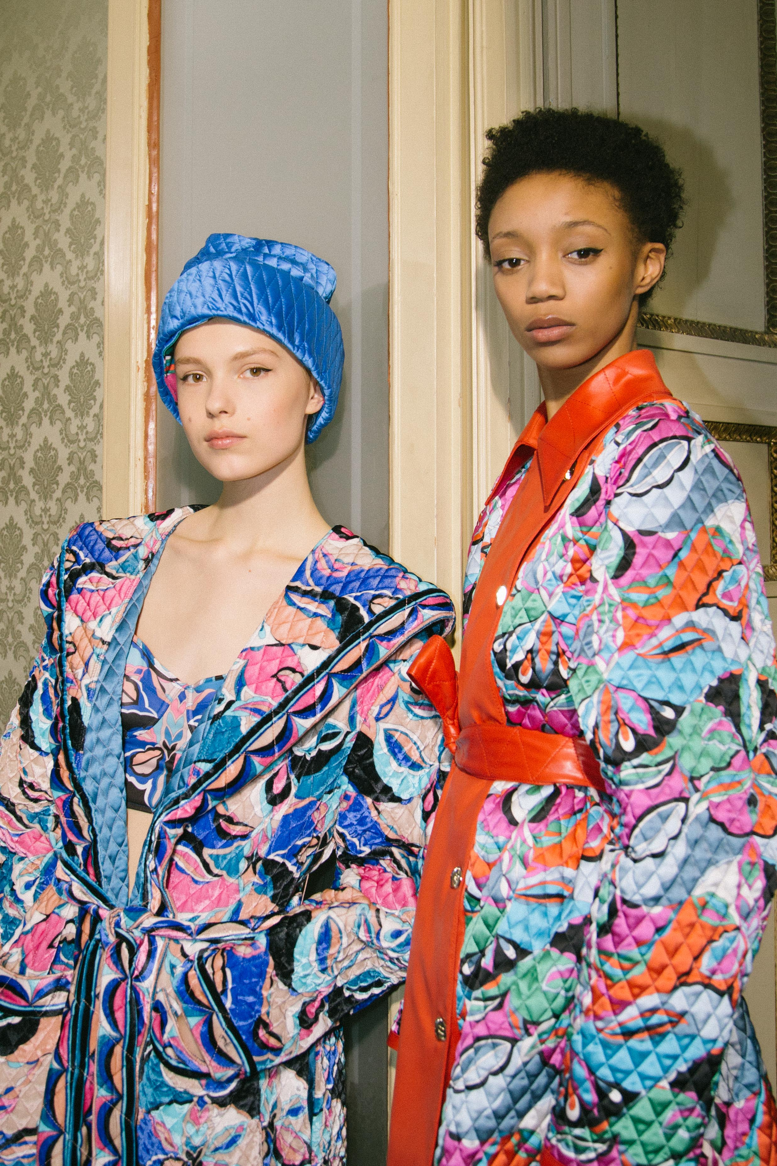 BACKSTAGE AT PUCCI A/W 2018