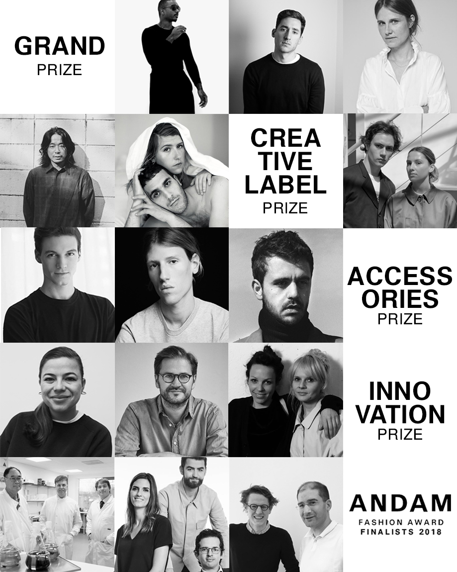 THE ANDAM AWARD FINALISTS REVEALED!