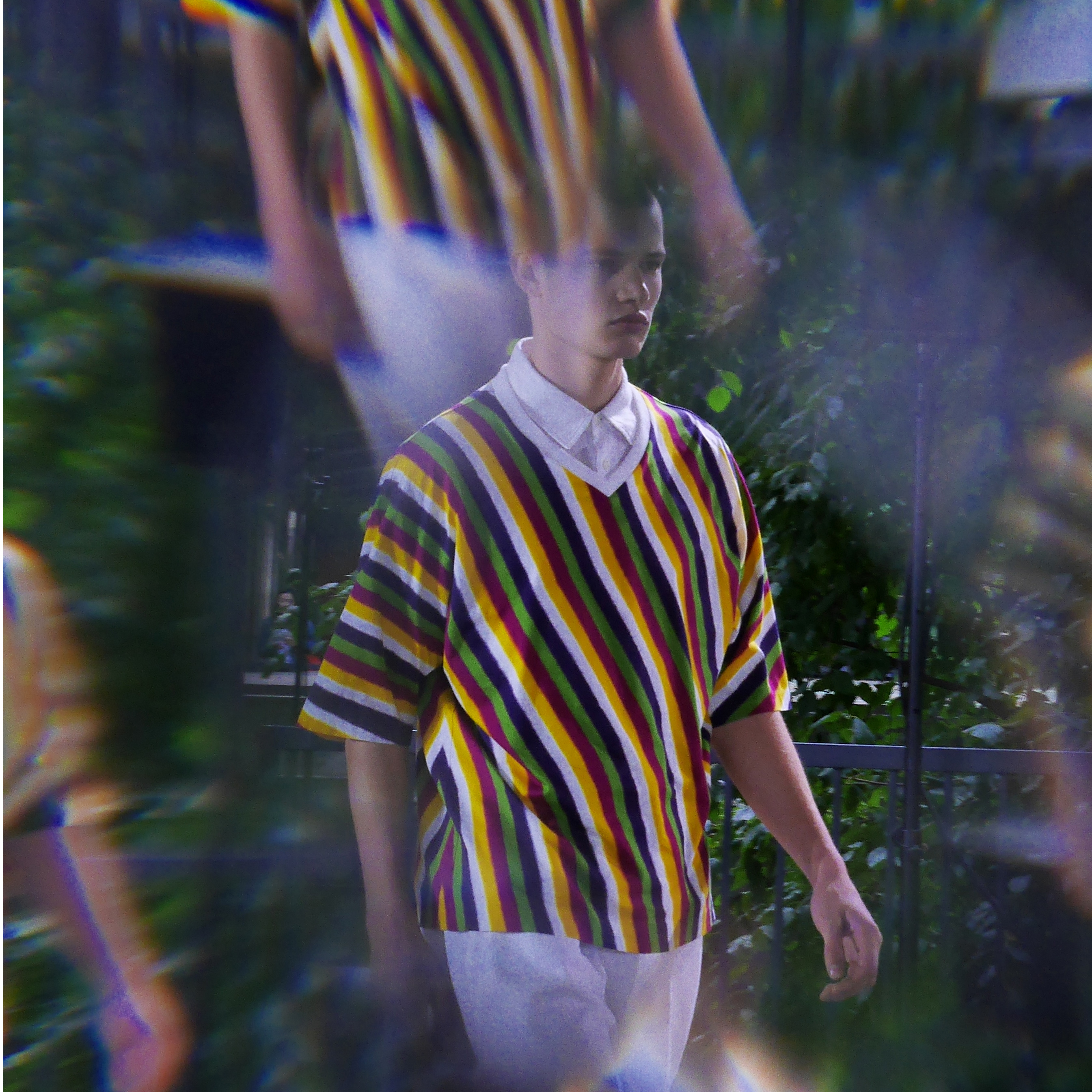 ISSEY MIYAKE MEN S/S 2018: A VISION BY FRANK PERRIN