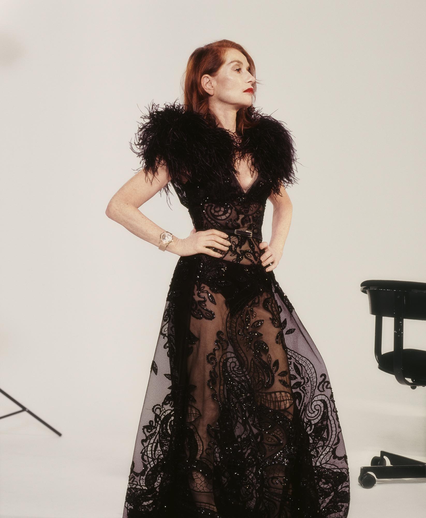 Isabelle Huppert Elie Saab Haute Couture interview fro crash magazine
