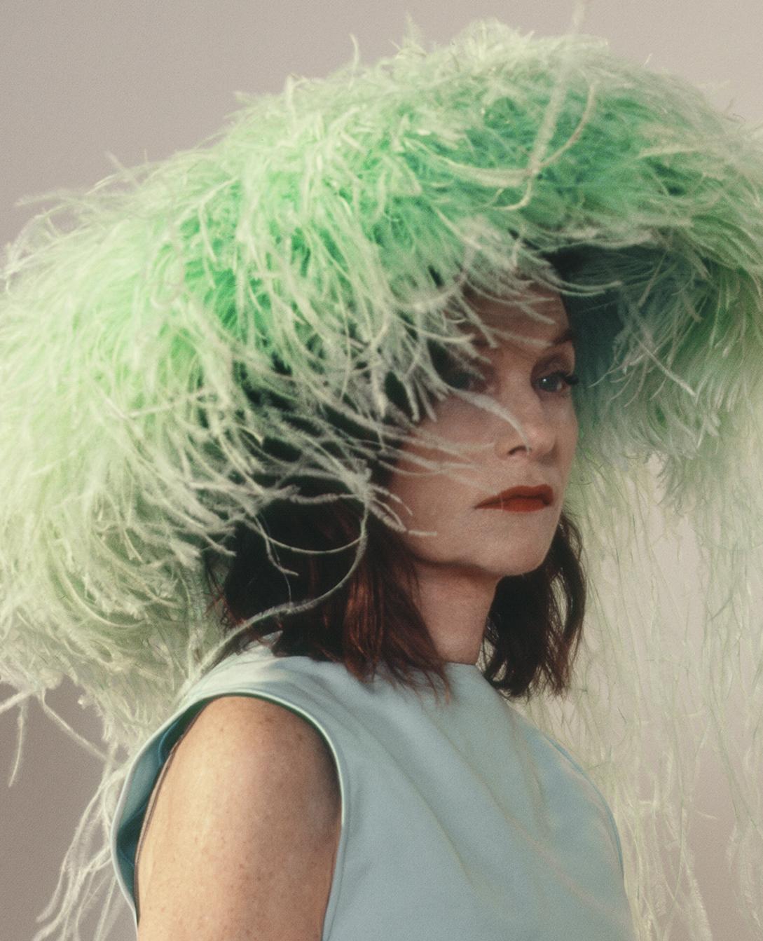 Isabelle Huppert Valentino Haute Couture for Crash Magazine