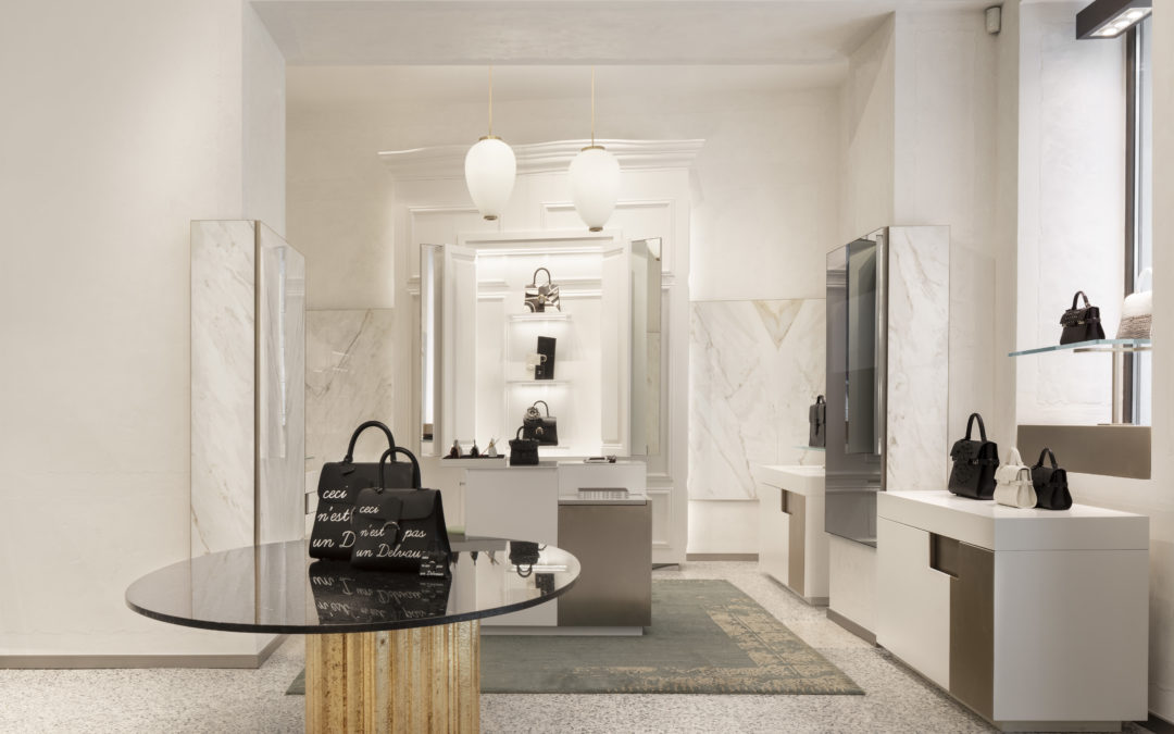 DELVAUX SETS FOOT IN ITALY