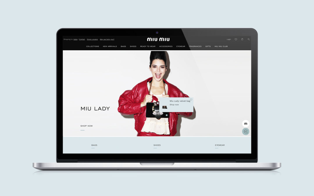 MIU MIU UNVEILS A NEW WEBSITE