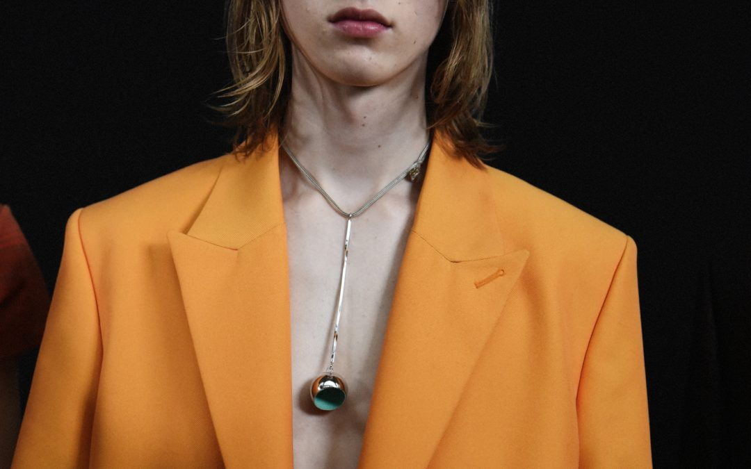 BACKSTAGE AT ACNE STUDIOS MEN'S A/W 2019