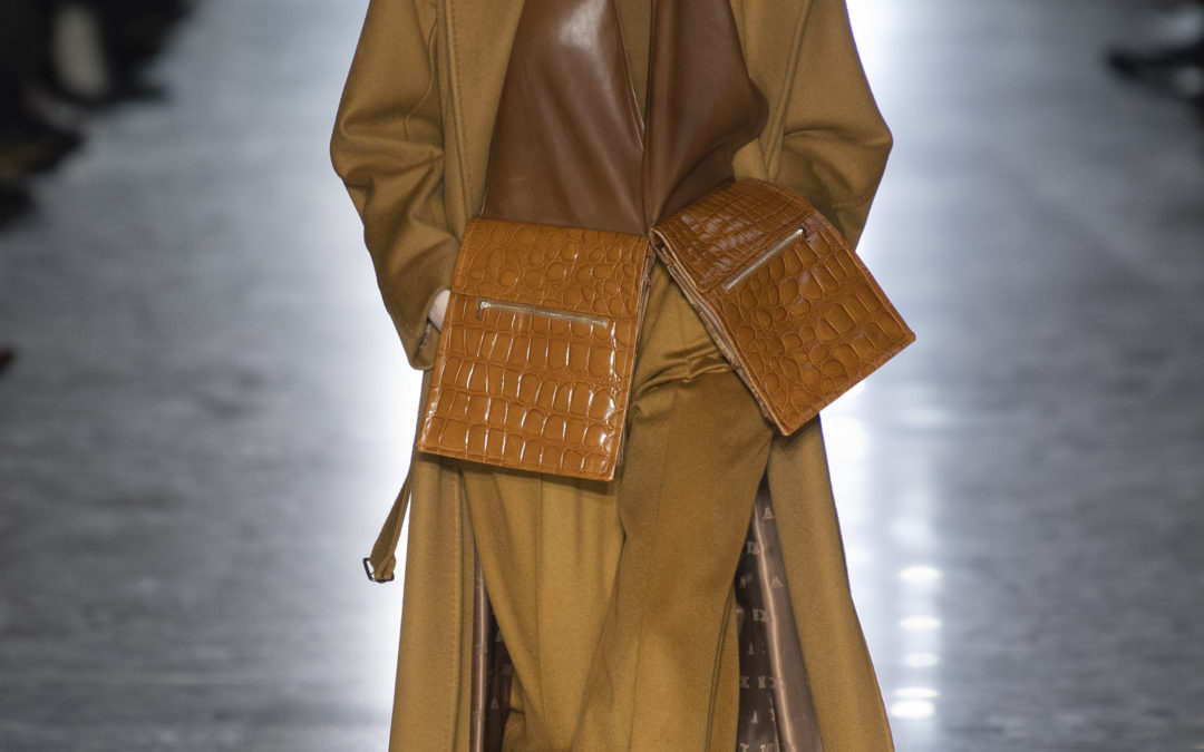 STRONG SUITING AT MAX MARA F/W 2019