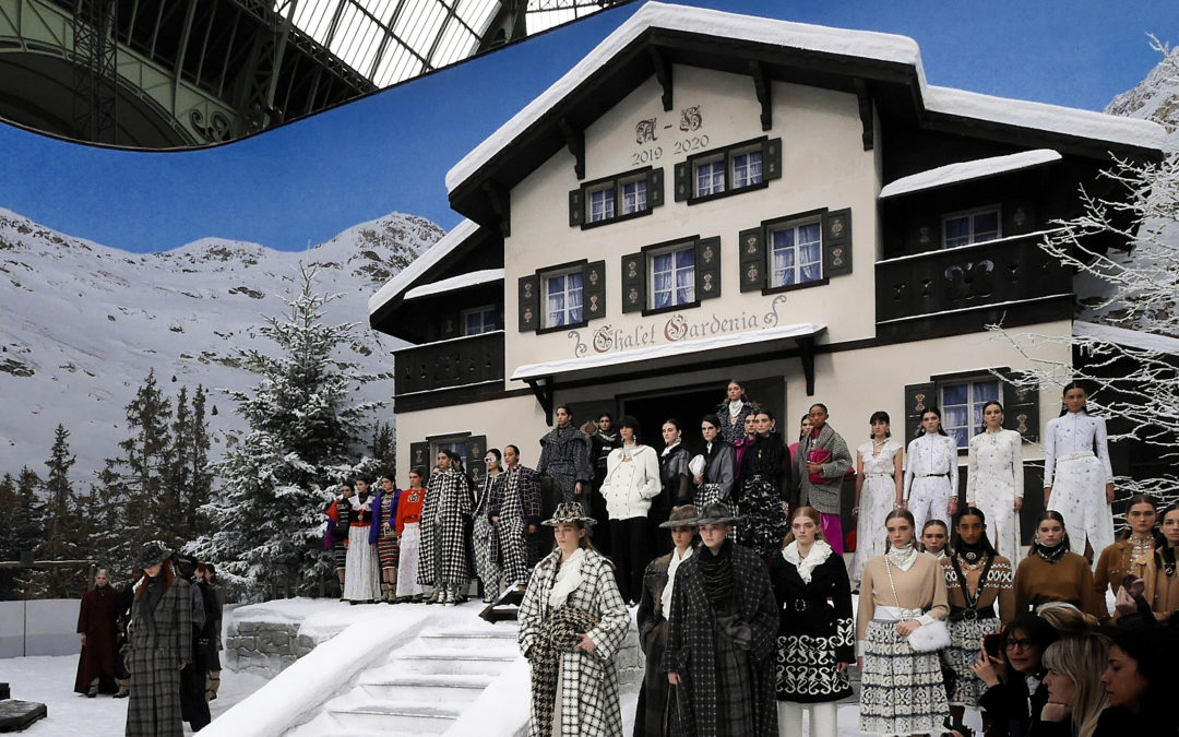 A LAST GOODBYE TO KARL LAGERFELD AT CHANEL A/W 2019