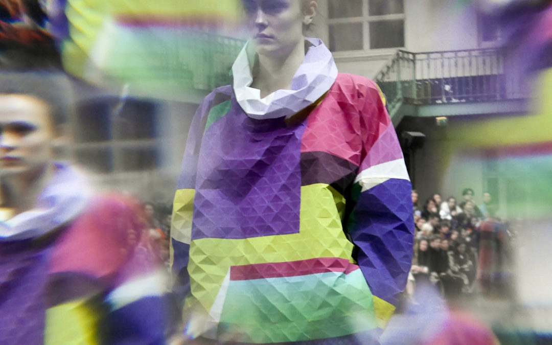 ISSEY MIYAKE A/W 2019: A VISION BY FRANK PERRIN