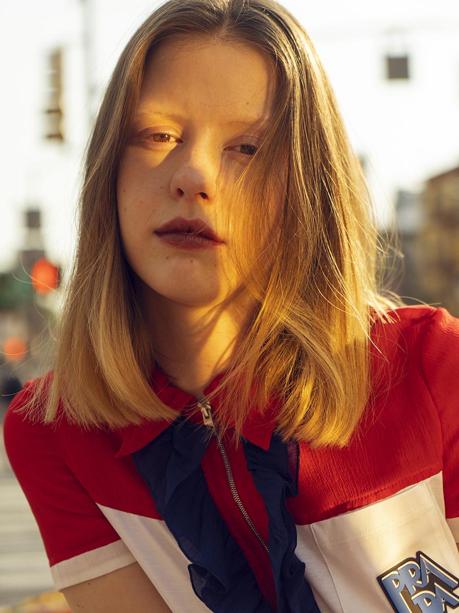 Mia Goth Prada- Crash Magazine interview