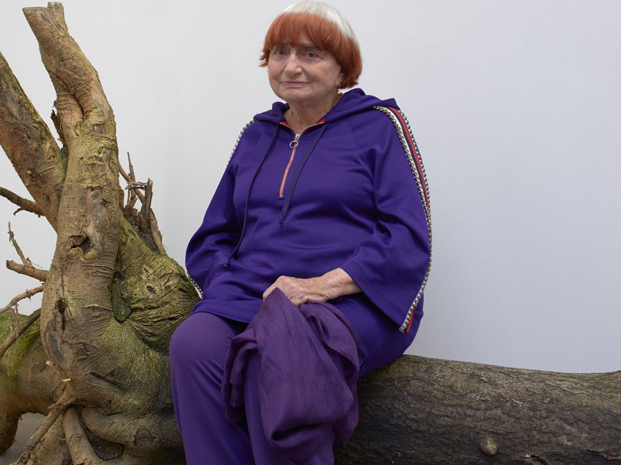 WE REMEMBER OUR MEETING WITH AGNES VARDA