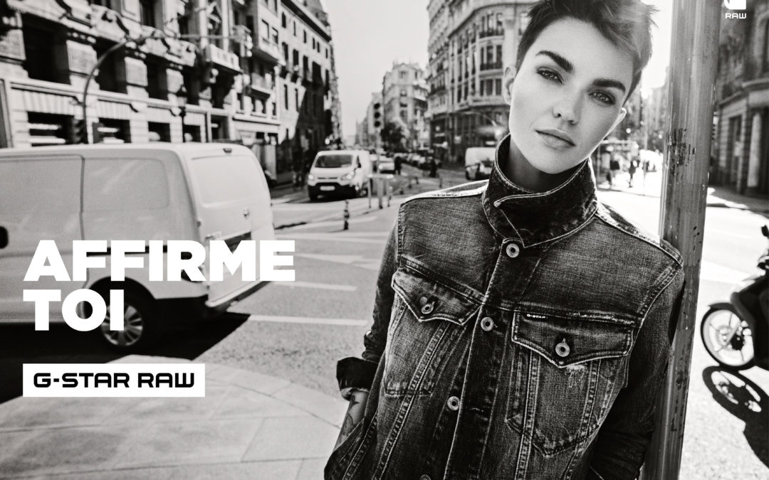 G-STAR RAW TEAMS UP WITH RUBY ROSE ON ITS NEW CAMPAIGN