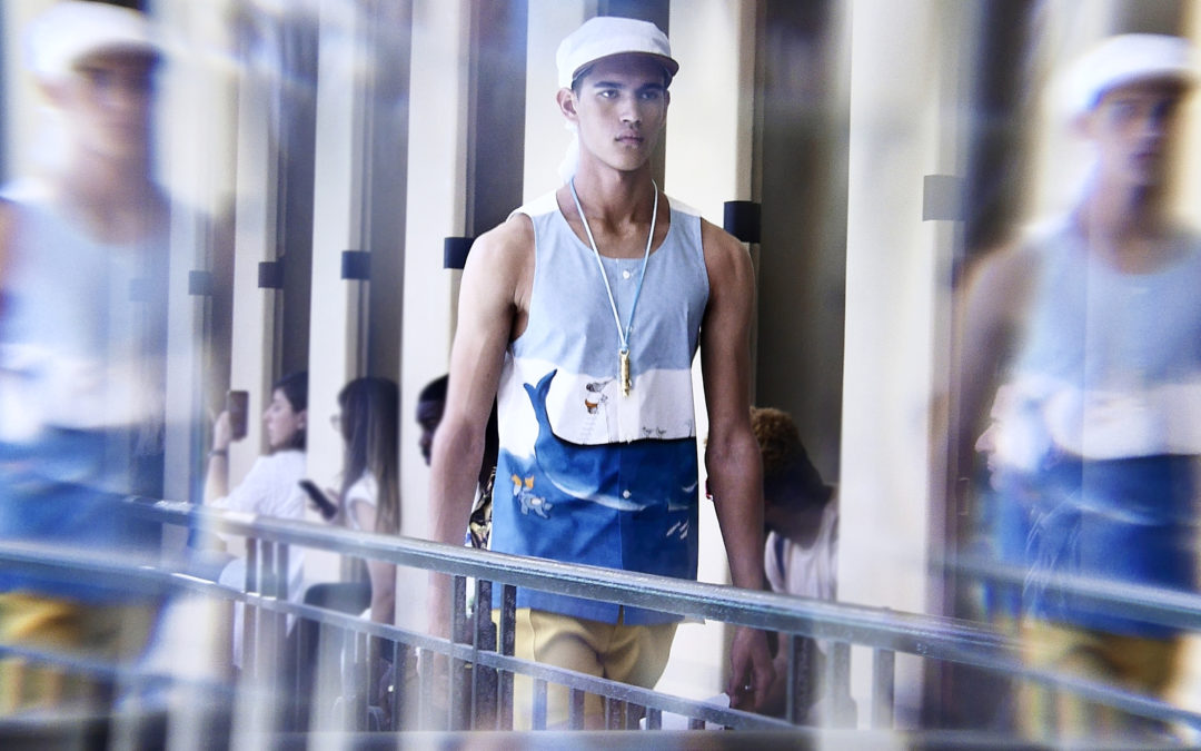 LANVIN MEN'S S/S 2020: A VISION BY FRANK PERRIN