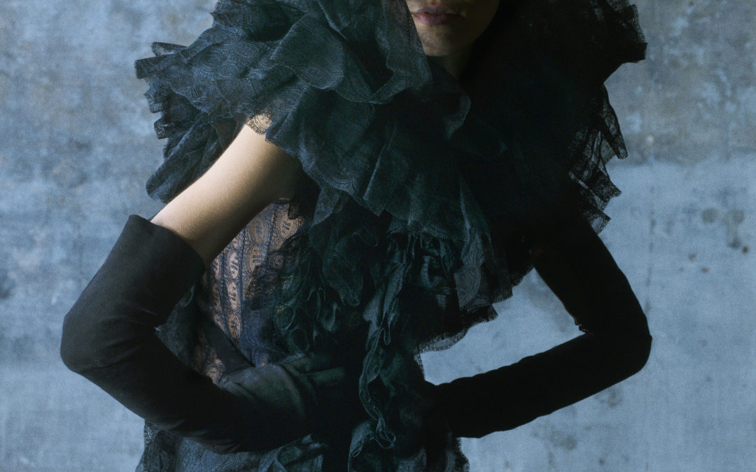 OLIVIER THEYSKENS CONFESSES HIS LOVE FOR LACE IN AN ASTONISHING EXHIBITION