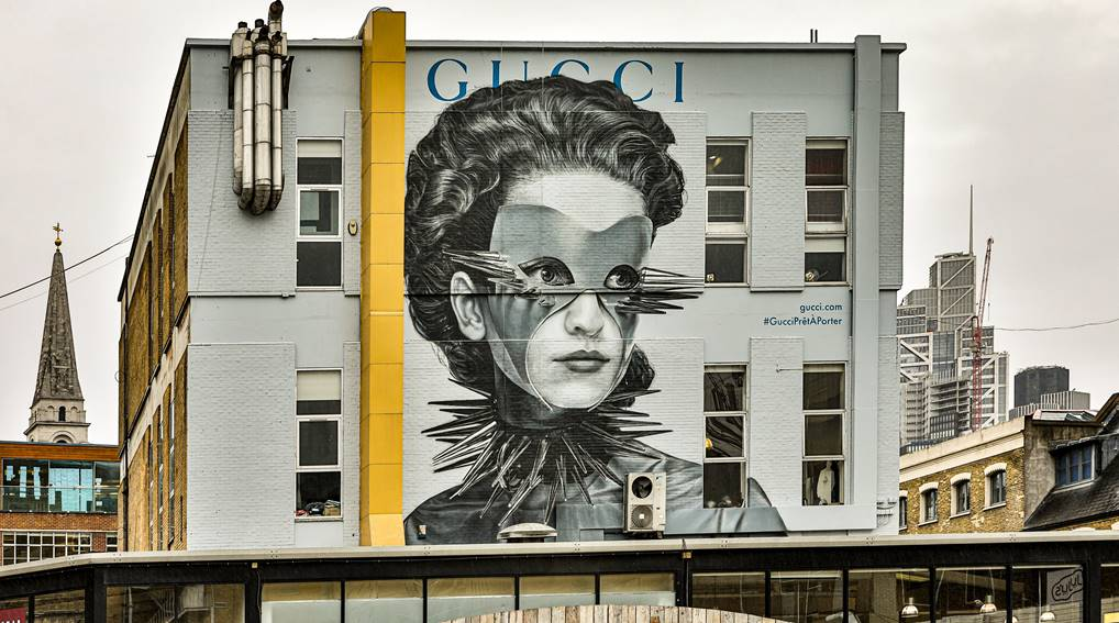 GUCCI REVEALS NEW ART WALLS FOR A/W 2019/20