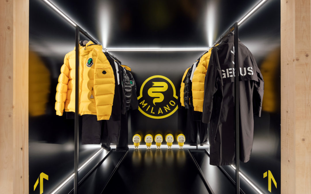 MONCLER : HOUSE OF GENIUS POP-UP STORES