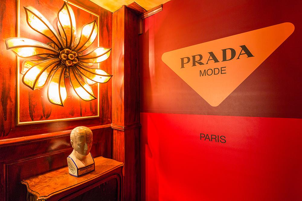 PRADA MODE SHAKES UP THE MAXIM'S IN PARIS