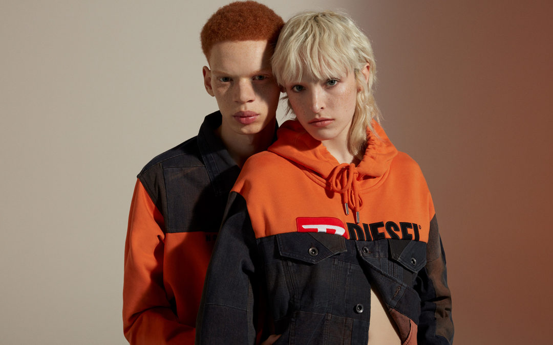 """""""DIESEL UPCYCLING FOR 55DSL"""" UNVEILED AT MILAN FASHION WEEK"""
