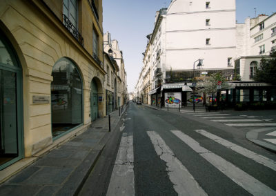 March 19, 2.18pm, The Day after Tomorrow, rue Seine