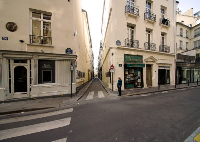 March 19, 2.32pm, The Day after Tomorrow, rue Visconti