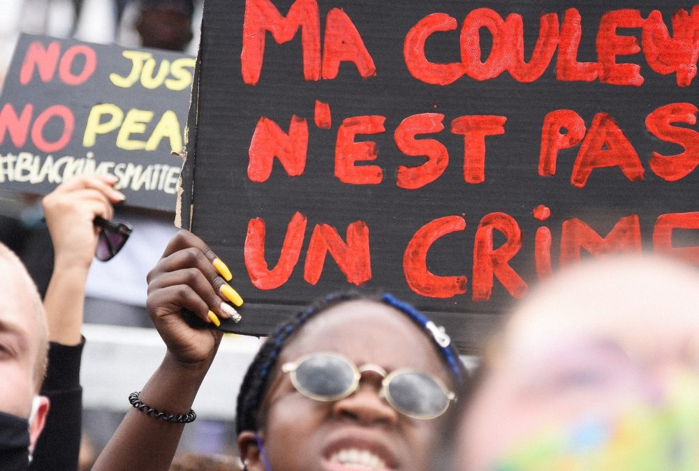 BLACK LIVES MATTER: PARIS MARCHES FOR JUSTICE