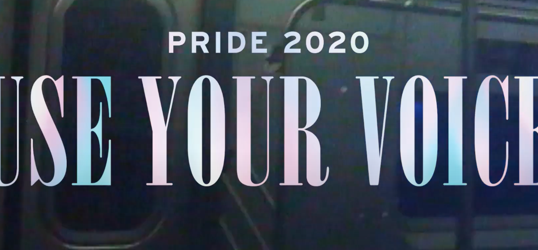 LEVI'S SHOWS ITS SUPPORT FOR PRIDE MONTH