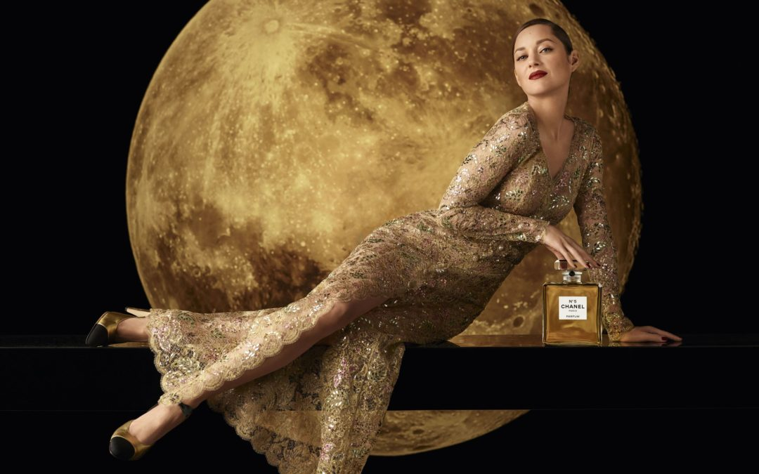 MARION COTILLARD IS THE NEW FACE OF THE CHANEL N°5 FRAGRANCE